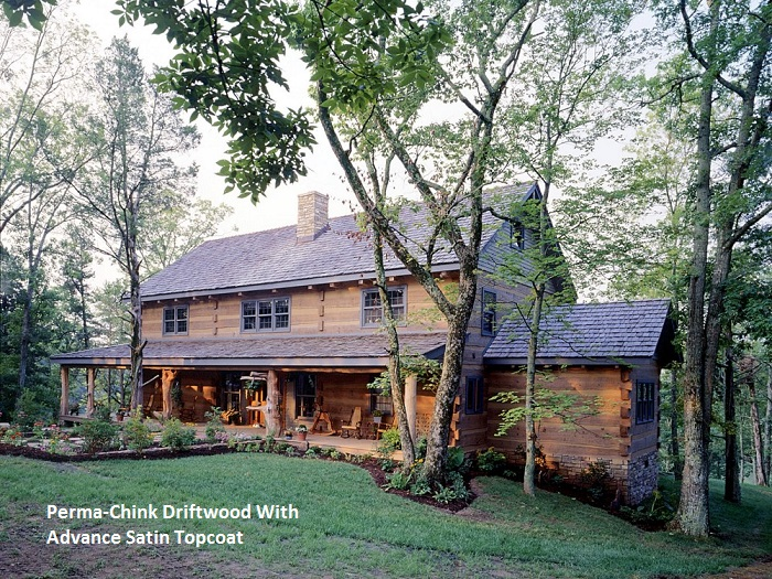 Perma Chink Exterior Stain Color Gallery