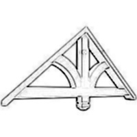 Custom gable brackets for Craftsman gable brackets